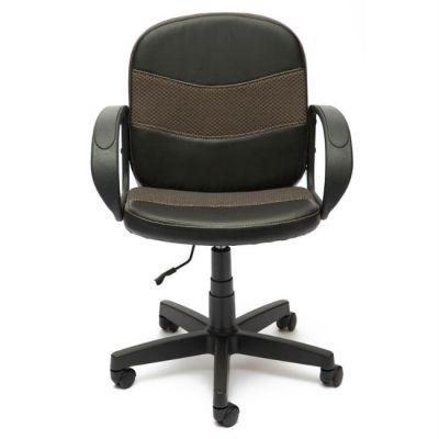 Офисное кресло Тетчер BAGGI кож/зам/ткань, (черный/бежевый)