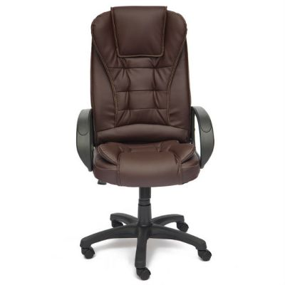 Офисное кресло Тетчер BARON ST кож/зам, (коричневый)