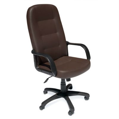 Офисное кресло Тетчер DEVON кож/зам, коричневый