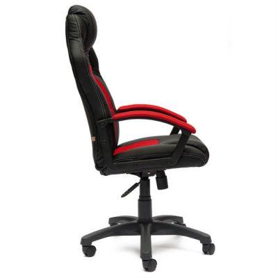 Офисное кресло Тетчер Driver кож/зам/ткань, (черный/красный)