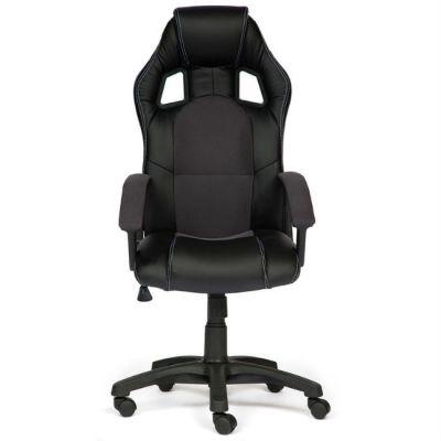Офисное кресло Тетчер Driver кож/зам/ткань, (черный/серый)