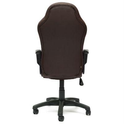 Офисное кресло Тетчер KAPPA кож/зам+ткань, коричневый+бежевый