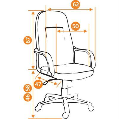 Офисное кресло Тетчер LEADER ткань, бежевый