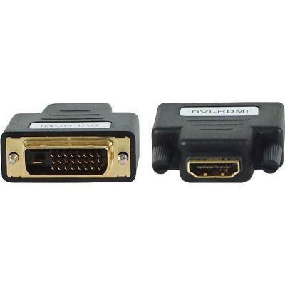 Адаптер Gembird HDMI-DVI A-HDMI-DVI-2, 19F/19M, золотые разъемы (06066)