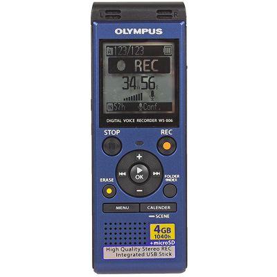 Диктофон Olympus WS-806 Blue 4 Гб, USB OLP-WS-806