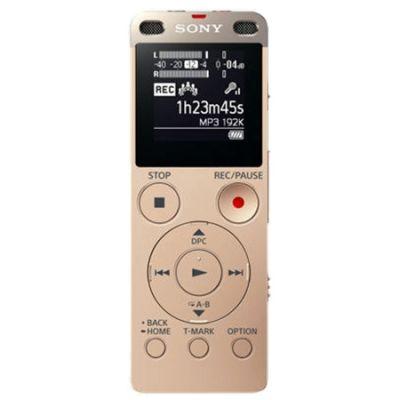Диктофон Sony ICD-UX560 золотой