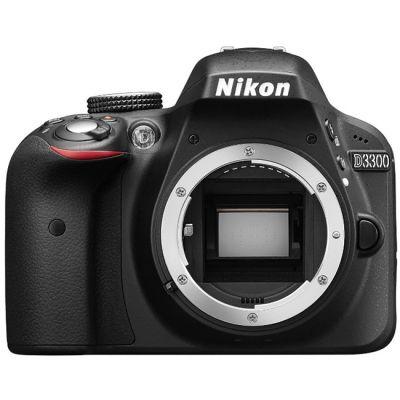 """Зеркальный фотоаппарат Nikon D3300 Body Black <24,7Mp, 3"""" LCD> VBA390AE"""
