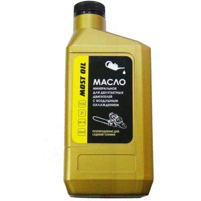 MOST OIL Масло 2-х тактное 0.6л минеральное API TB 1501001003
