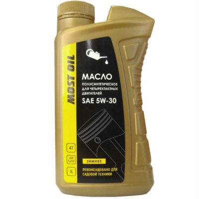 MOST OIL ����� 4-� ������� 1.0� SAE 5W30 ����������������� API SJ/CF 1501005001