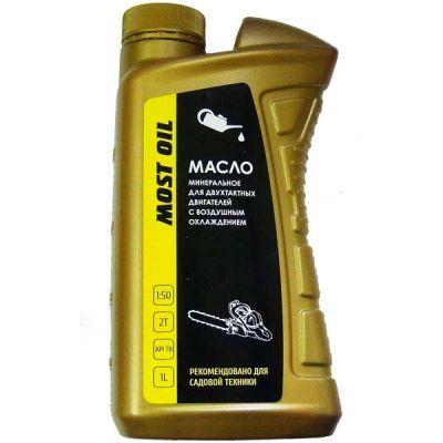 MOST OIL Масло 2-х тактное 1.0л минеральное API TB 1501001001