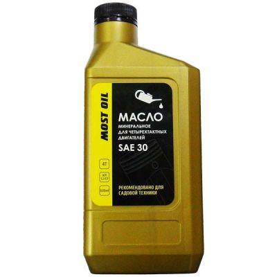MOST OIL Масло 4-х тактное 0.6л SAE30 минеральное API SJ/CF 1501004001