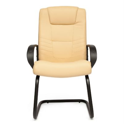 Офисное кресло Тетчер MAXIMA S кож/зам, Бежевый