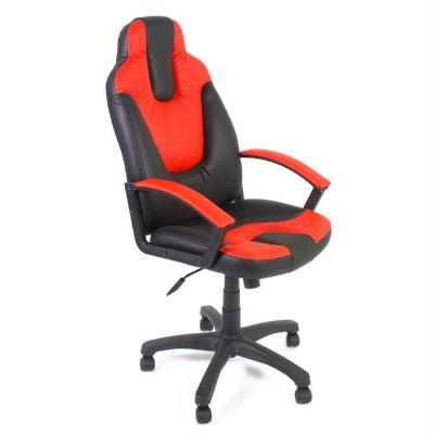 Офисное кресло Тетчер NEO2 кож/зам, черный/красный
