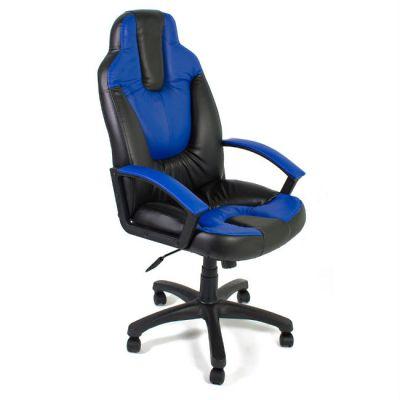 Офисное кресло Тетчер NEO2 кож/зам, черный/синий