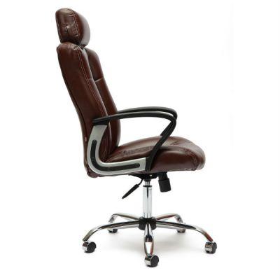 Офисное кресло Тетчер OXFORD кож/зам, коричневый 2 TONE/коричневый перфорированный 2 TONE