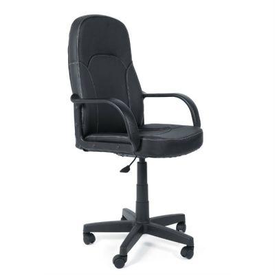 Офисное кресло Тетчер PARMA кож/зам, черный