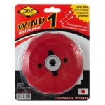 DDE Головка триммерная Wind 1 безразборная смена корда (крепление под гайку диска,Япония) 640-094