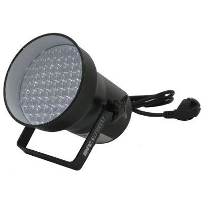 Involight Светодиодный RGB прожектор (чёрный) звуковая активация, DMX-512 LED Par36/BK