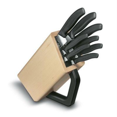 Victorinox Набор ножей Swiss Classic черный (8шт) (6.7173.8)