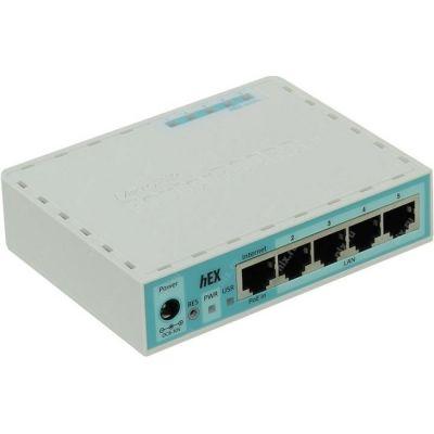 MikroTik Маршрутизатор 4UTP 10 / 100 / 1000Mbps, 1WAN RB750GR2