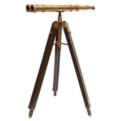 Тетчер Напольная Бинокулярная труба на треноге, высота макс 150 см, длина окуляров 66 см. 2155