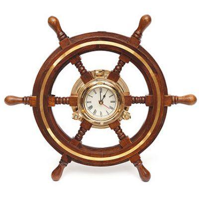 Тетчер Настенные часы Штурвал, D -46, 9981