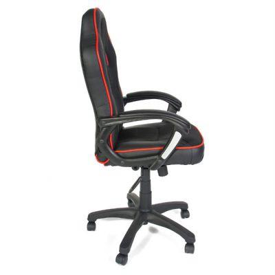 Офисное кресло Тетчер SHUMMY кож/зам+ткань, черный+красный
