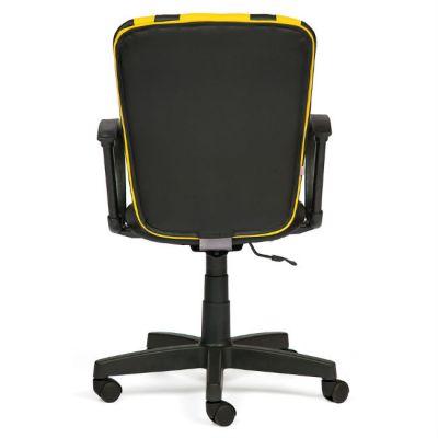 Офисное кресло Тетчер SPECTRUM кож/зам, черный+жёлтый