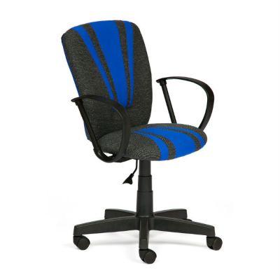 Офисное кресло Тетчер SPECTRUM ткань, серо-синий