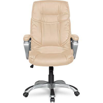 Офисное кресло Staten руководителя COLLEGE XH-2002 бежевое
