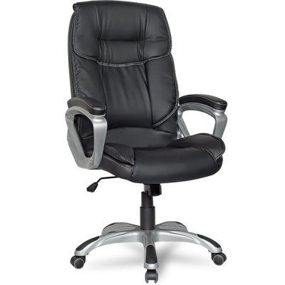 Офисное кресло Staten руководителя COLLEGE XH-2002 черное