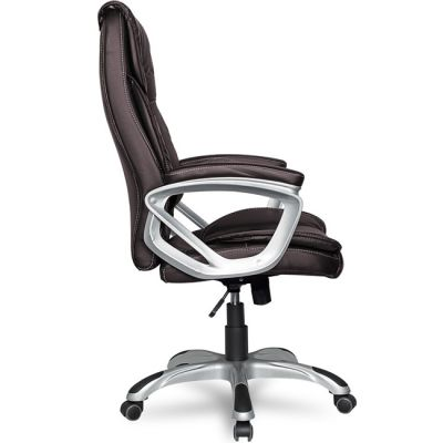 Офисное кресло Staten руководителя COLLEGE XH-2002 коричневое
