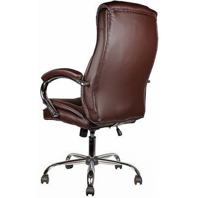 Офисное кресло Staten руководителя COLLEGE BX-3001-1 коричневое (314395)