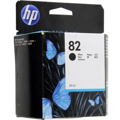��������� �������� HP 82 69-ml Black Ink Cartridge CH565A