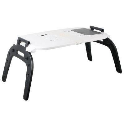 "Охлаждающая подставка Kromax для ноутбука 17"" SATELLITE-70 прикроватный столик, охлаждающий кулер, коврик для мышки"