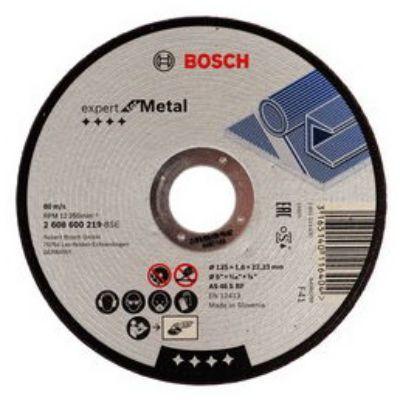 Диск Bosch отрезной 125_22_1.6мм по металлу 2608600219