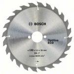 ���� Bosch ������� �� ������ 190�30x24 OPTILINE ECO ��/�� 2608641789