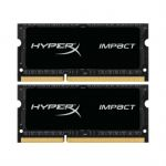 Оперативная память Kingston SODIMM 8GB 1866MHz DDR3L CL11 (Kit of 2) 1.35V HyperX Impact Black HX318LS11IBK2/8