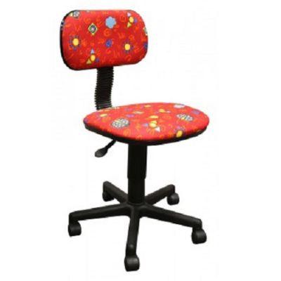 Офисное кресло Бюрократ CH-201NX LB-RED красный (божьи коровки) LB-Red