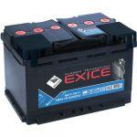 Автомобильный аккумулятор Exice Classic 75 NR о.п. 9195454
