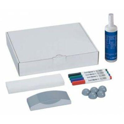 HEBEL MAUL Набор для досок 6386099 4 маркера/5 магнитов/стиратель/салфетки/спрей-очиститель 827905