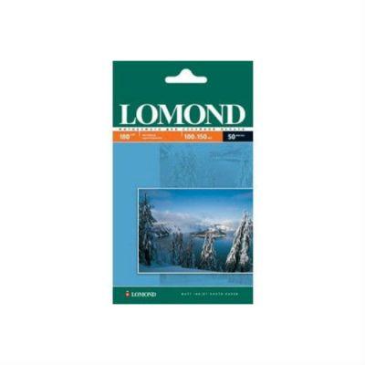 Бумага Lomond 10x15/180г/м2/600л./белый матовое для струйной печати 0102083