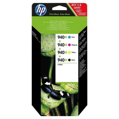 Картридж HP 940XL набор (C2N93AE)
