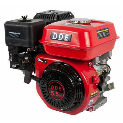 Двигатель DDE бензиновый четырехтактный 168F-S20 (20.0 мм, 5.5 л.с., 163 куб.см., фильтр-картридж, датчик уровня масла)