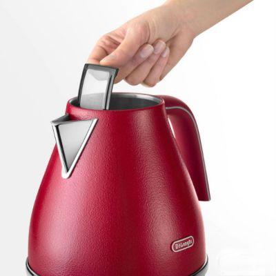 Электрический чайник Delonghi KBOE2001.R красный 0394255