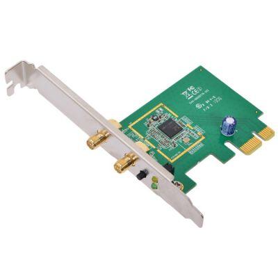 Адаптер ASUS Беспроводной PCE-N15 Wi-Fi с интерфейсом PCI Express 300Mbps