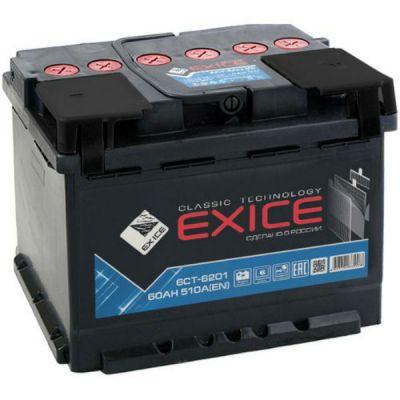Автомобильный аккумулятор Exice Classic 62 NR о.п. 9197906
