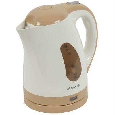 Электрический чайник Maxwell MW-1014 бежевый 0284657