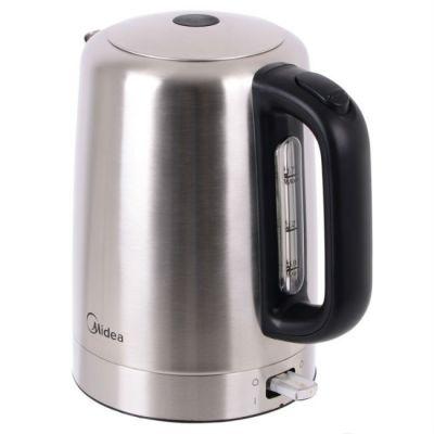 Электрический чайник Midea MK-M317C2A-SS серебристый 0303363