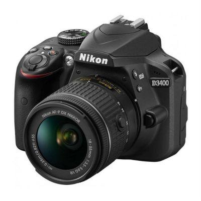 ���������� ����������� Nikon D3400 Kit 18-55 VR AF-P Black